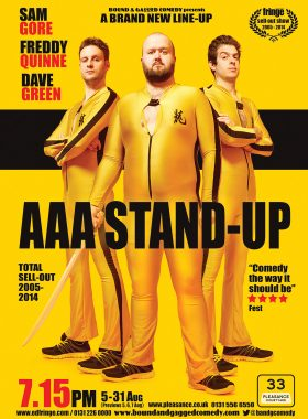 Comedy Poster AAA 1