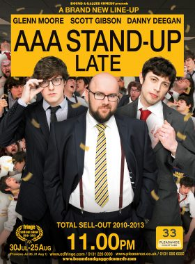 Comedy Poster AAA Late 2