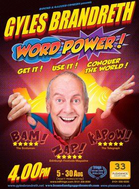 Comedy Poster Gyles Brandreth