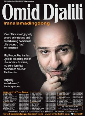 Comedy Poster Omid Djlili