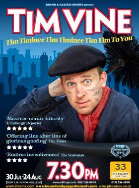 Comedy Poster Tim Vine